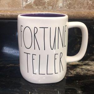 New VHTF Rae Dunn FORTUNE TELLER Mug